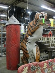 Everyone needs a giant, 6-foot leaping tiger, right?